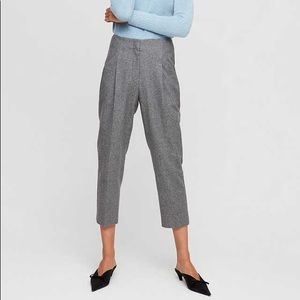 Wilfred aritzia pants wool-cashmere blend